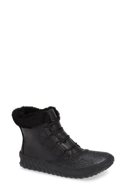 Image of Sorel Out N About Plus Lux Waterproof Boot with Genuine Shearling Trim