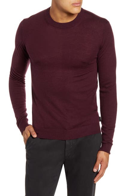 Image of Ted Baker London Chemin Wool Blend Crew Neck Sweater