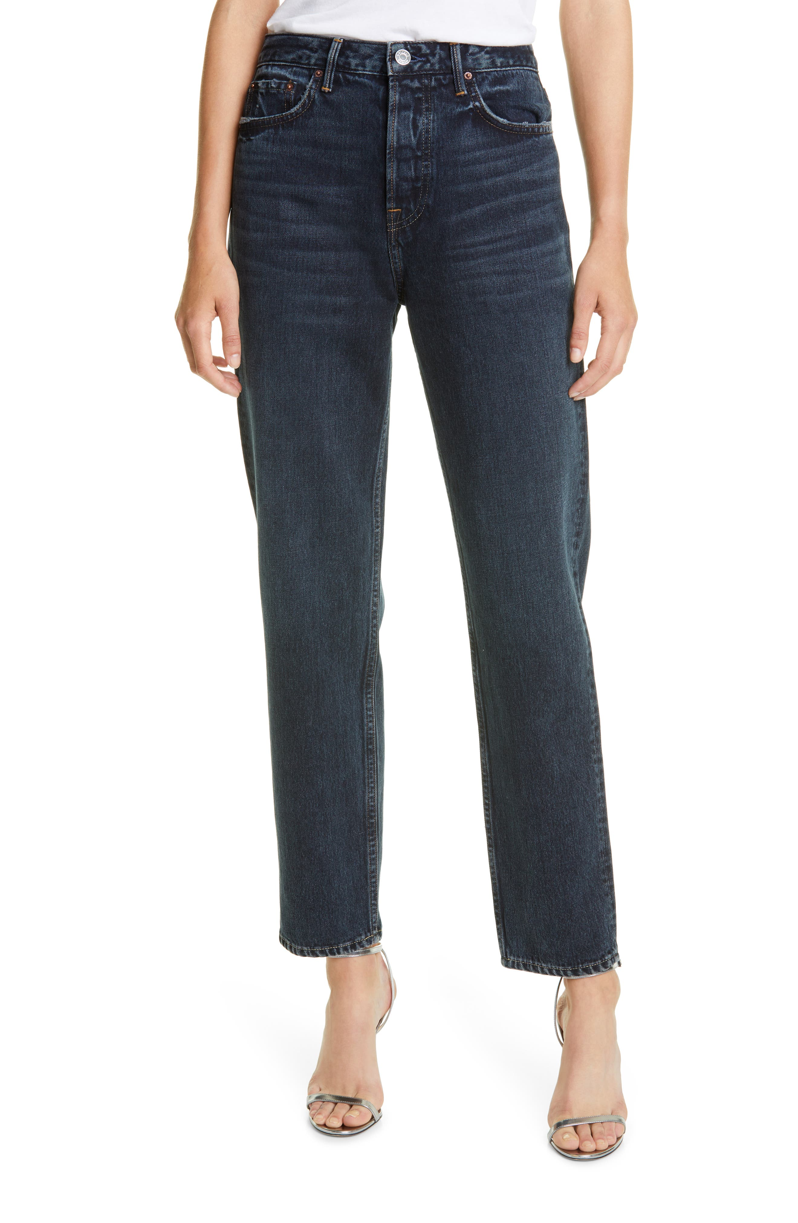 Devon High Rise Relaxed Fit Jeans