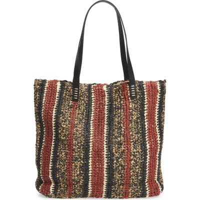 Nordstrom Barnet Soft Woven Tote - Red