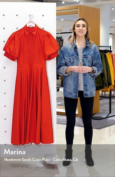 Puff Sleeve Shirtdress, sales video thumbnail
