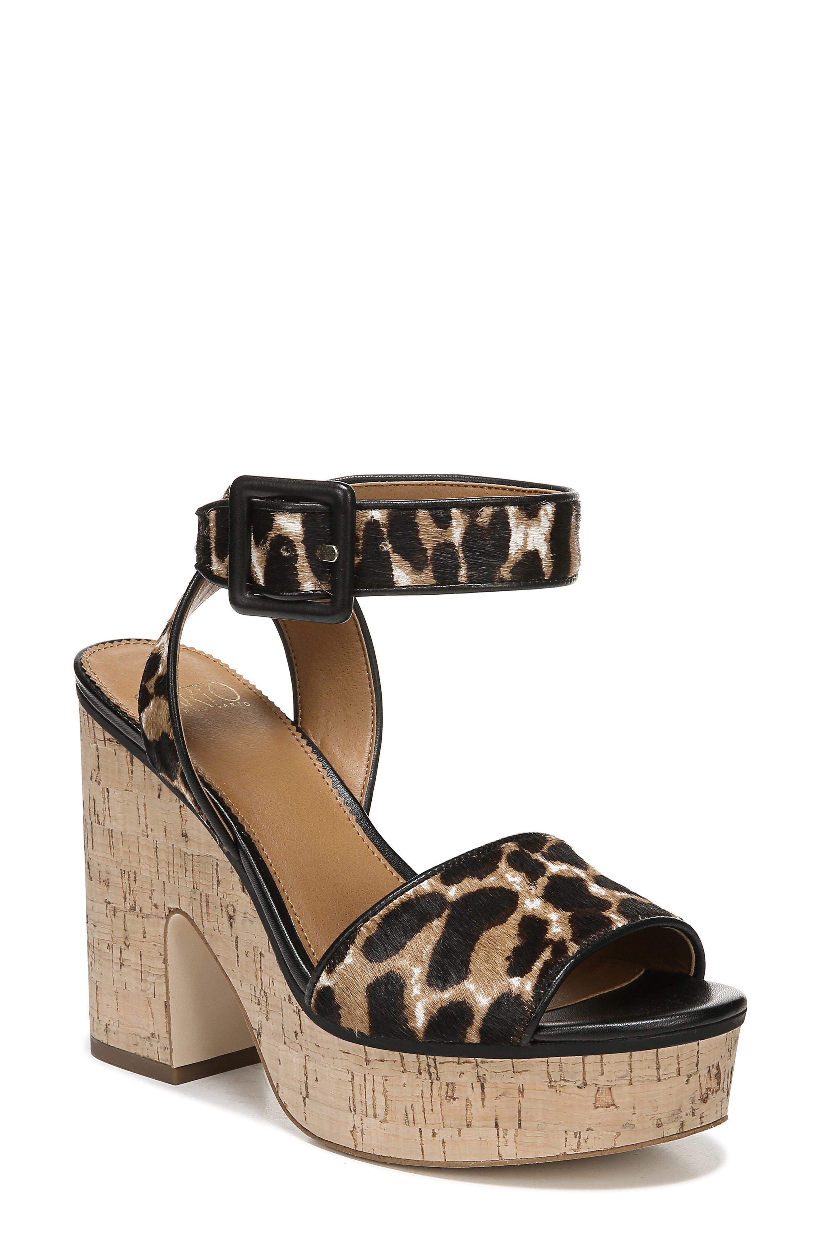 Sarto By Franco Sarto Franny Platform Sandal- Black
