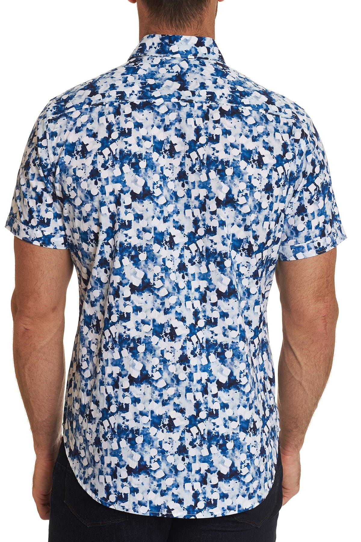 Image of Robert Graham Patterned Roswell Classic Fit Short Sleeve Shirt