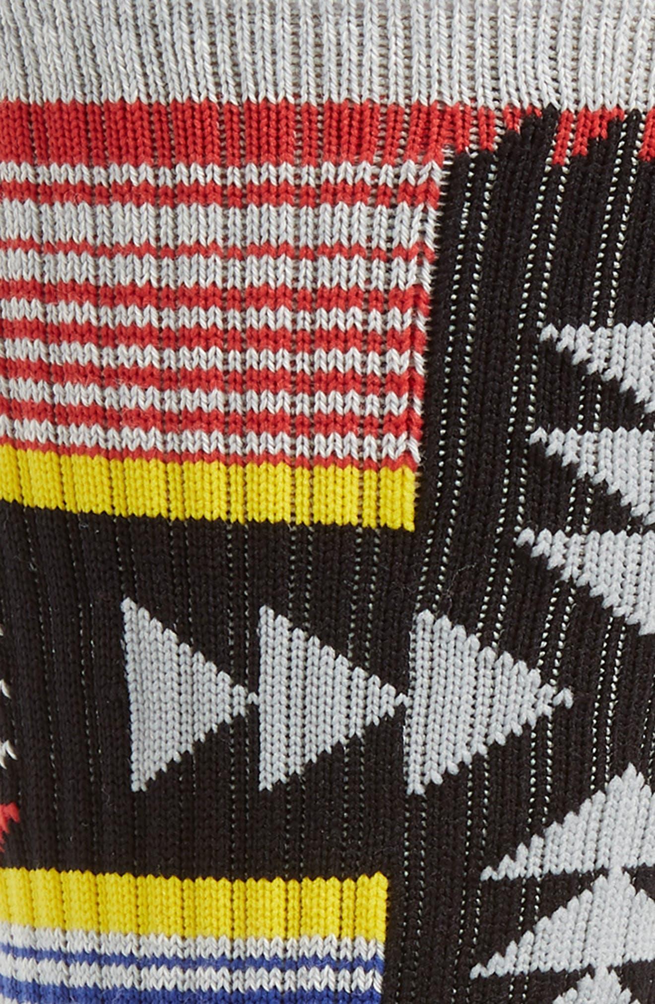 ,                             Canyonlands Crew Socks,                             Alternate thumbnail 2, color,                             HEATHER GREY