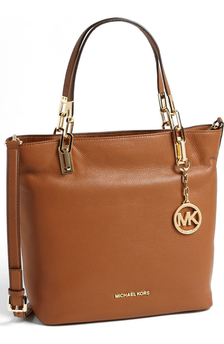 71a42a6b00 MICHAEL Michael Kors 'Medium Brooke' Leather Tote | Nordstrom