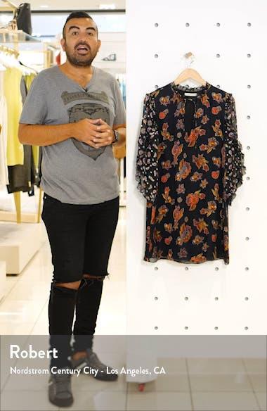 Julius Ruffle Sleeve Silk Blend Dress, sales video thumbnail