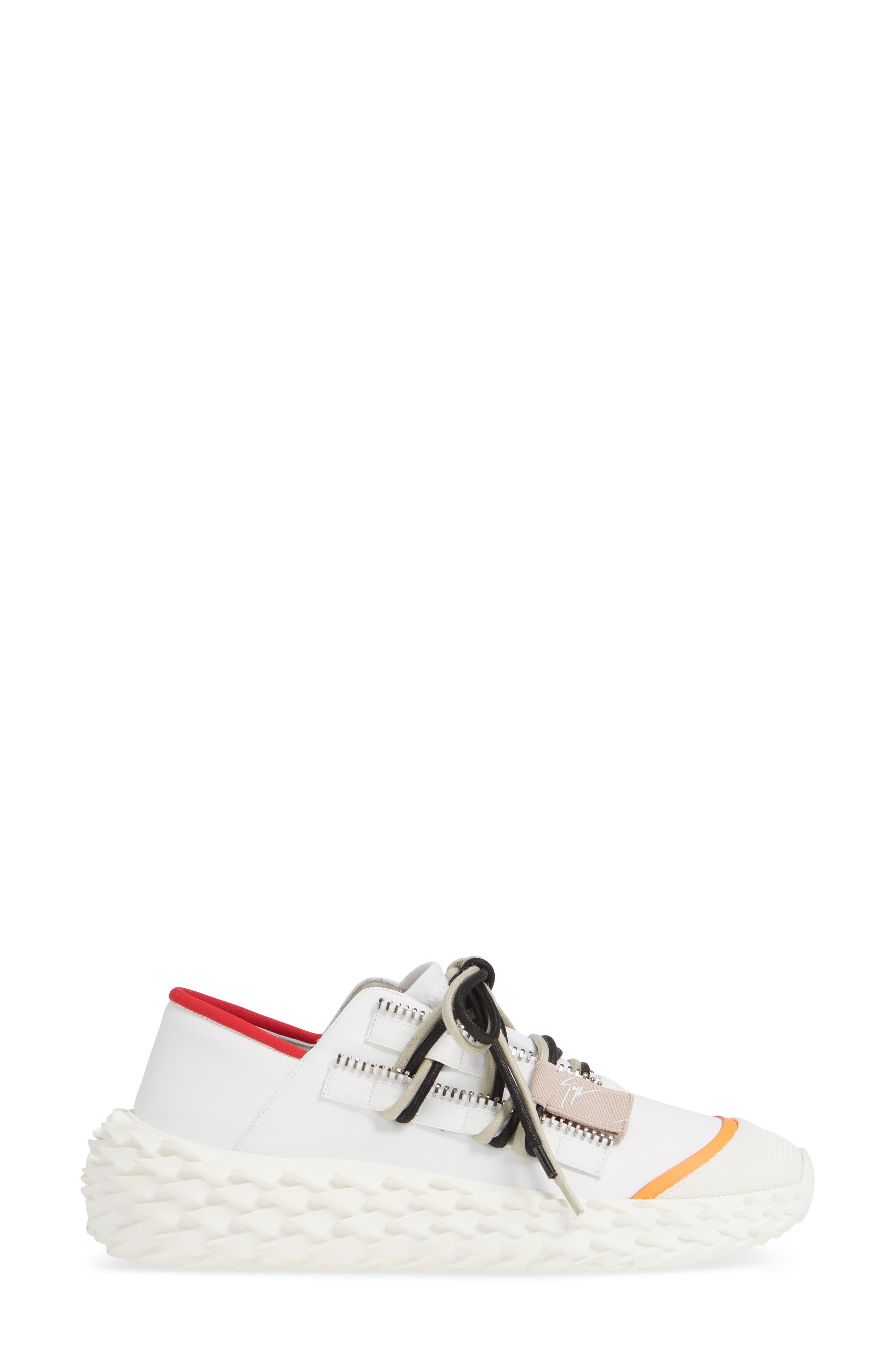 ,                             Scale Sole Sneaker,                             Alternate thumbnail 3, color,                             WHITE