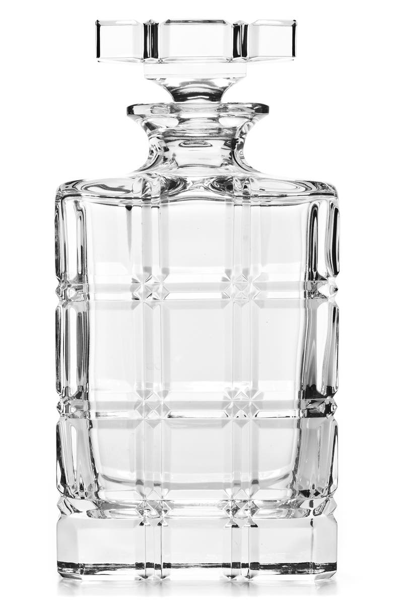 RALPH LAUREN Greenwich Leaded Crystal Decanter, Main, color, CLEAR