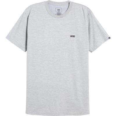 Vans Chest Logo T-Shirt, Grey