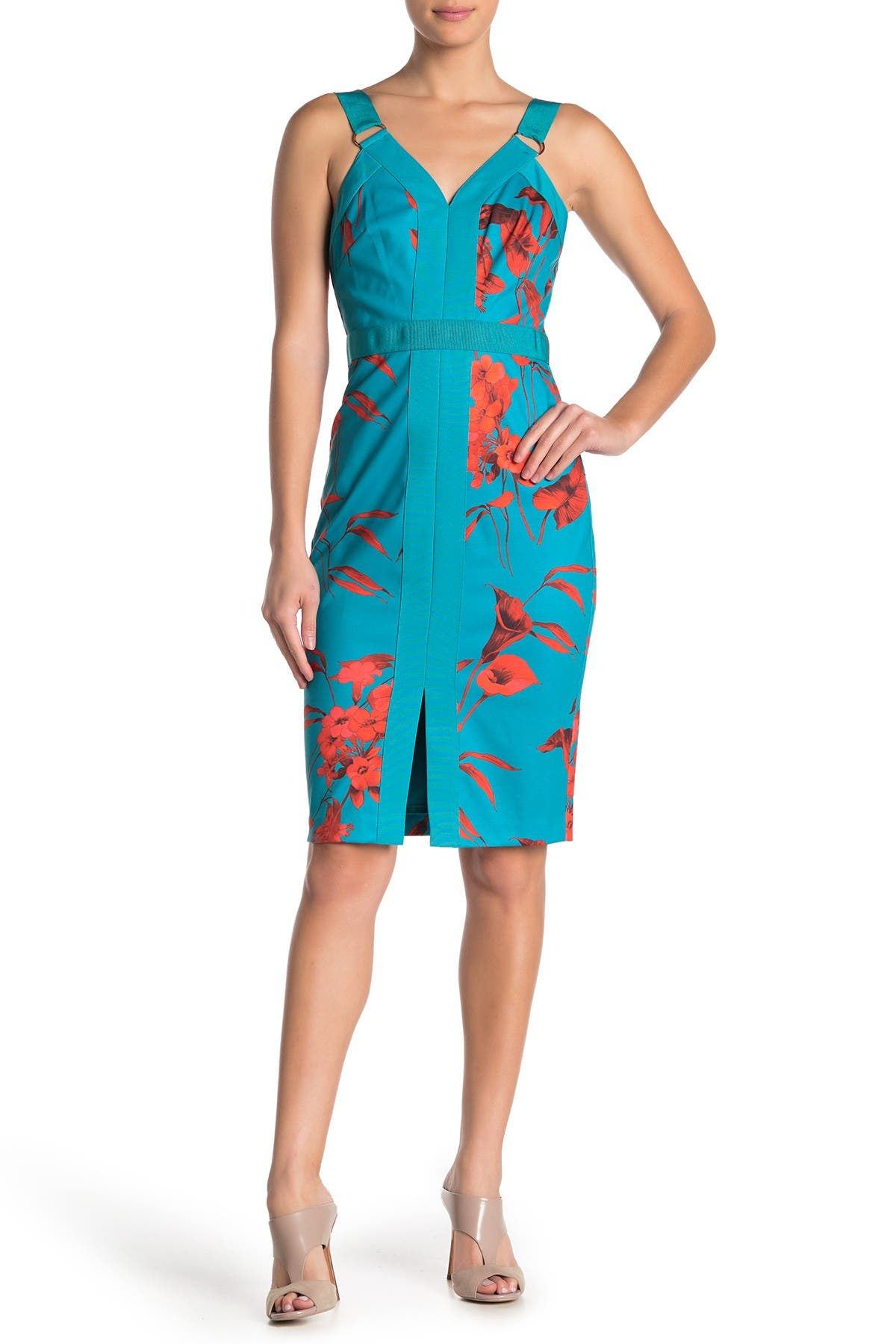 Image of Ted Baker London Jordja Floral Sheath Dress