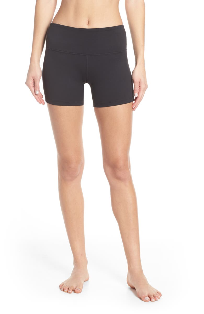 ZELLA Live In Bike Shorts, Main, color, BLACK