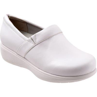 Softwalk Meredith Sport Clog, White