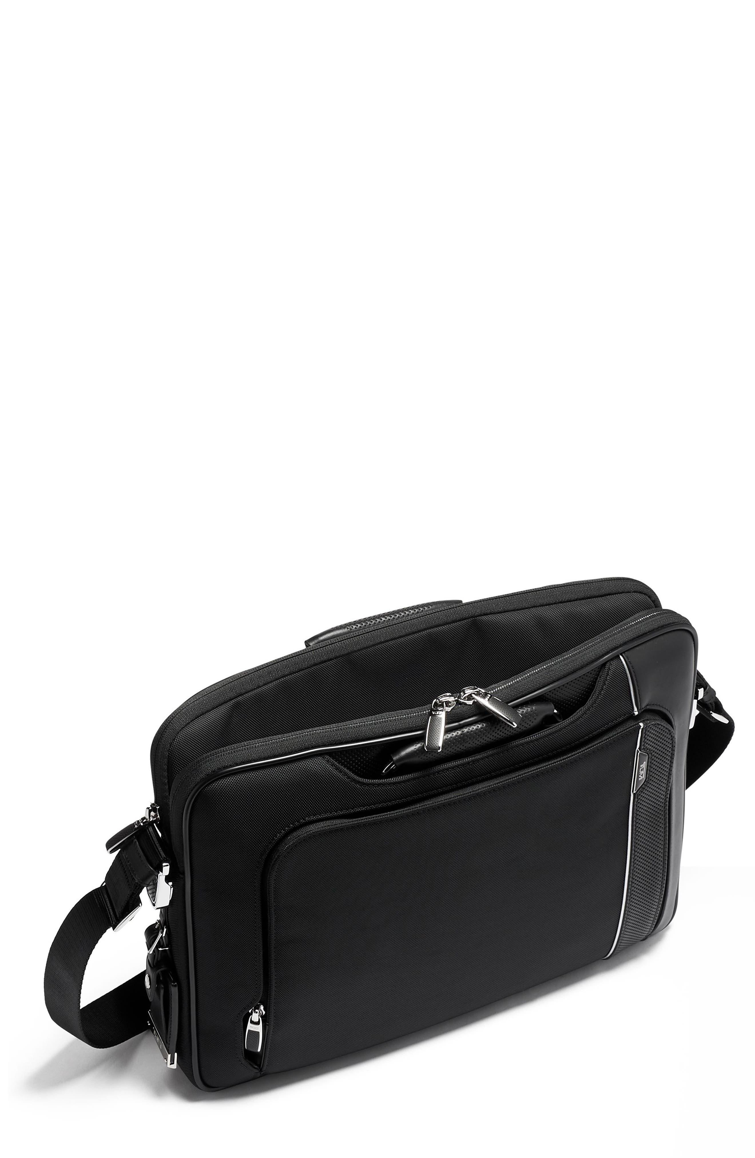 Tumi Arrive Hannover Slim Briefcase - Black