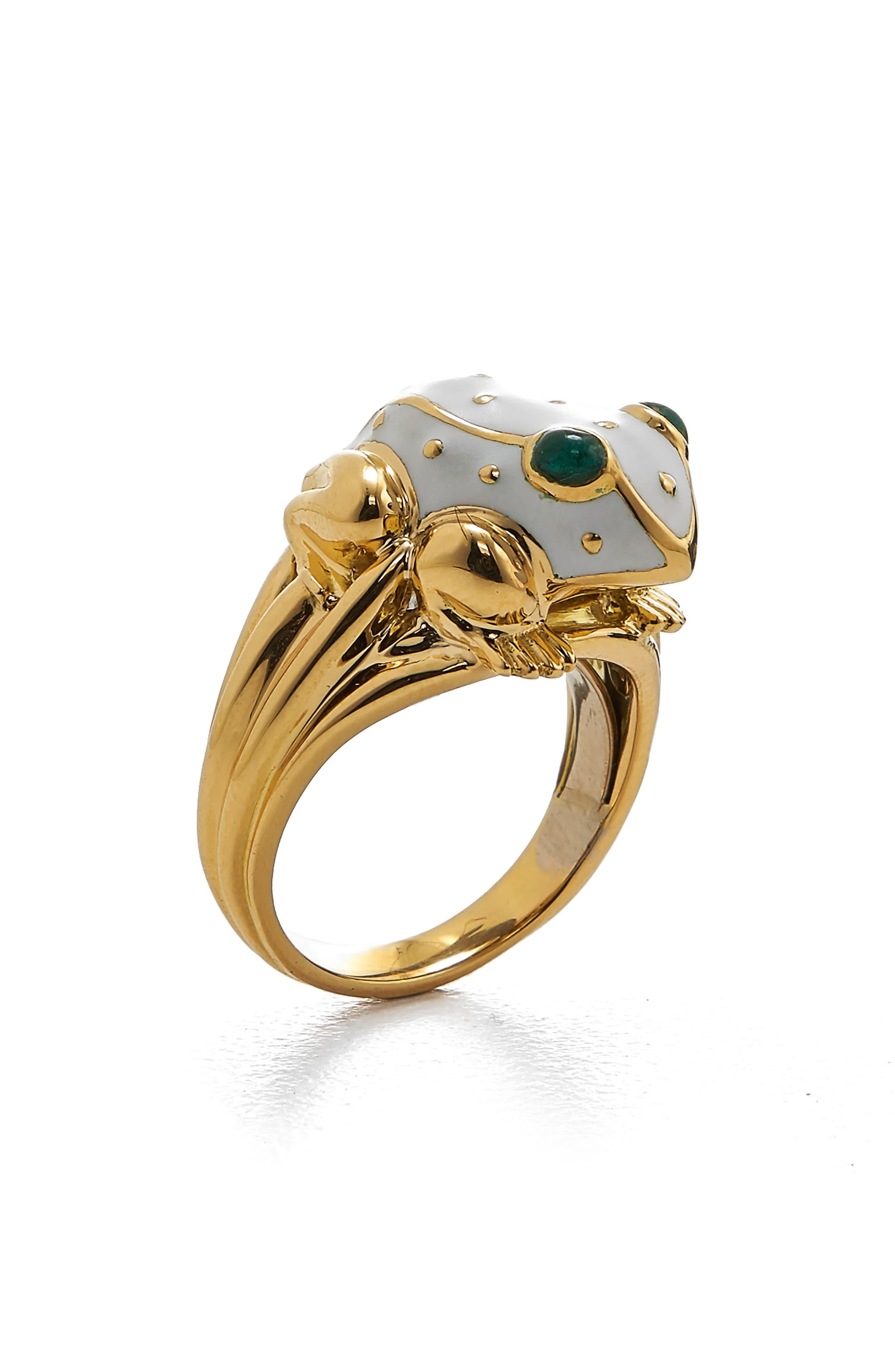 Kingdom Baby Frog Ring