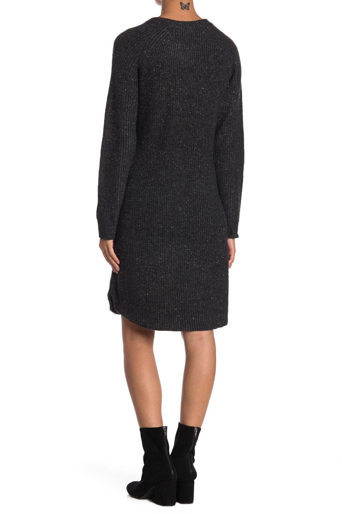 Image of Madewell Curved Hem Sweater Dress