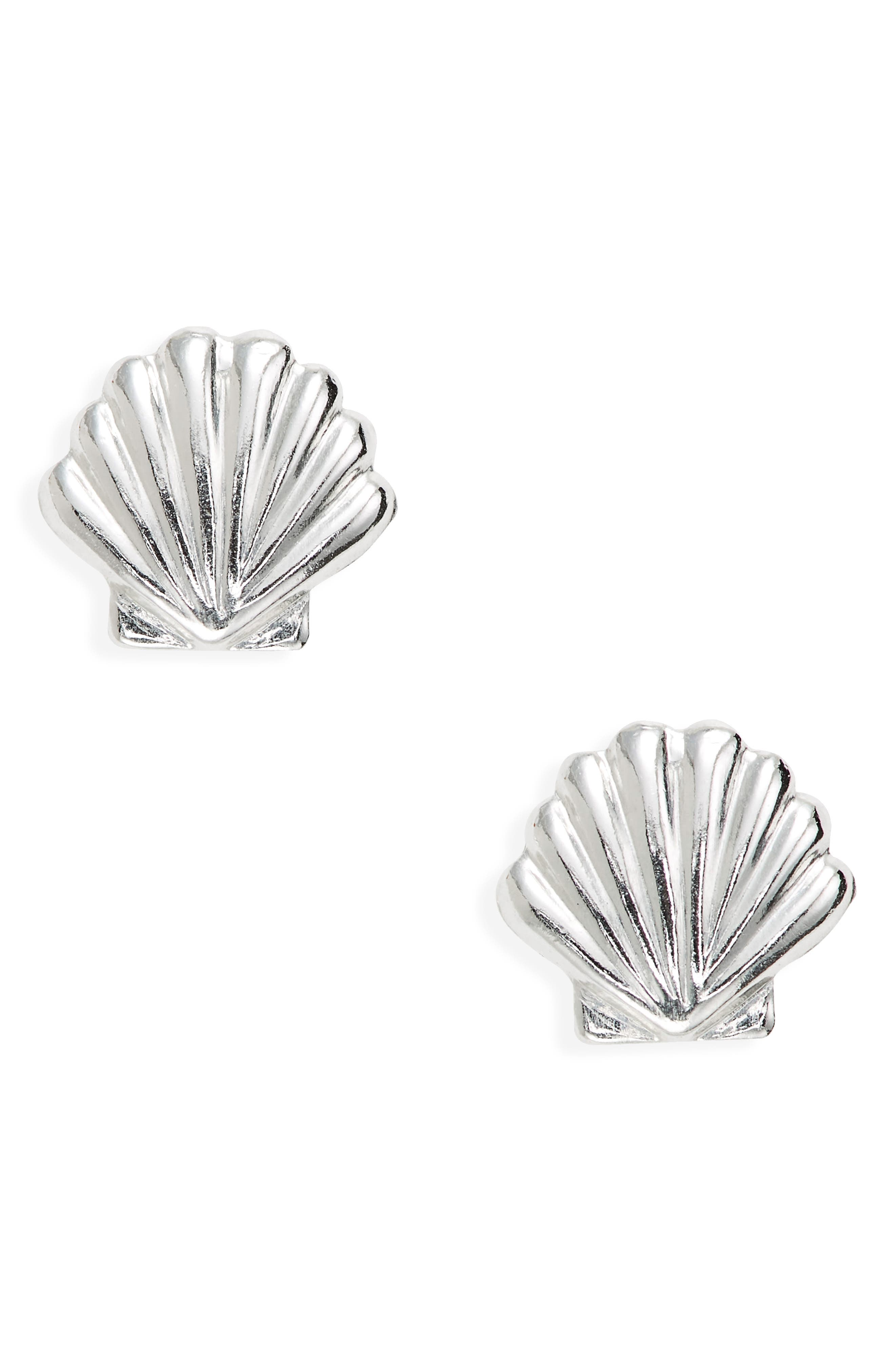 Shiny seashells beckon smiles in these small studs that are made in the USA. Style Name: Set & Stones Sawyer Shell Stud Earrings. Style Number: 6093926. Available in stores.