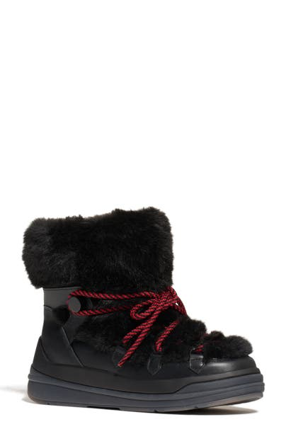 Moncler INSOLUX FAUX FUR LINED WATERPROOF SNOW BOOT