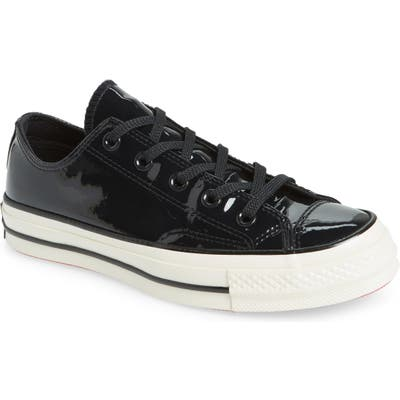 Converse Chuck Taylor All Star 70 Patent Low Top Sneaker, Black