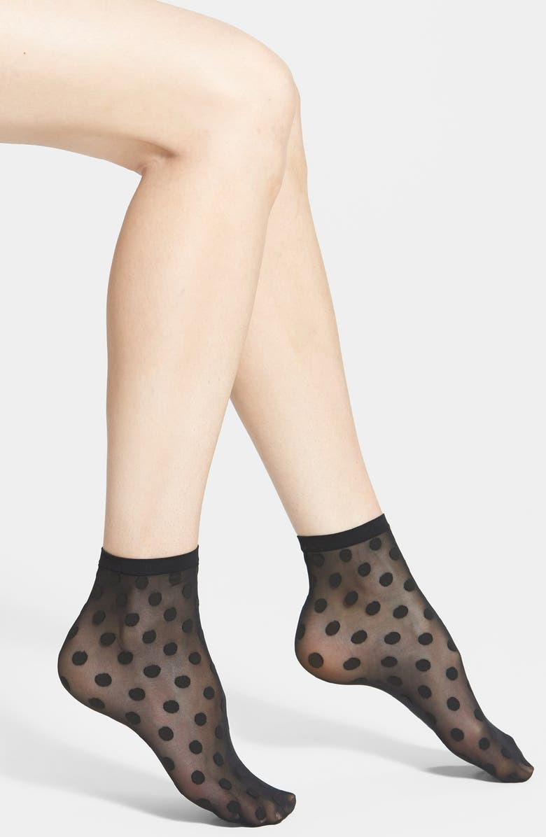 WOLFORD 'Leonie' Socks, Main, color, 003