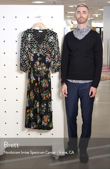 Bonnie Floral & Polka Dot Print Dress, sales video thumbnail