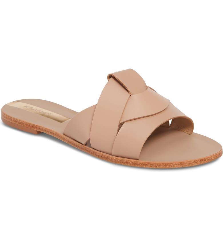 KAANAS Campinas Geo Slide Sandal, Main, color, 250
