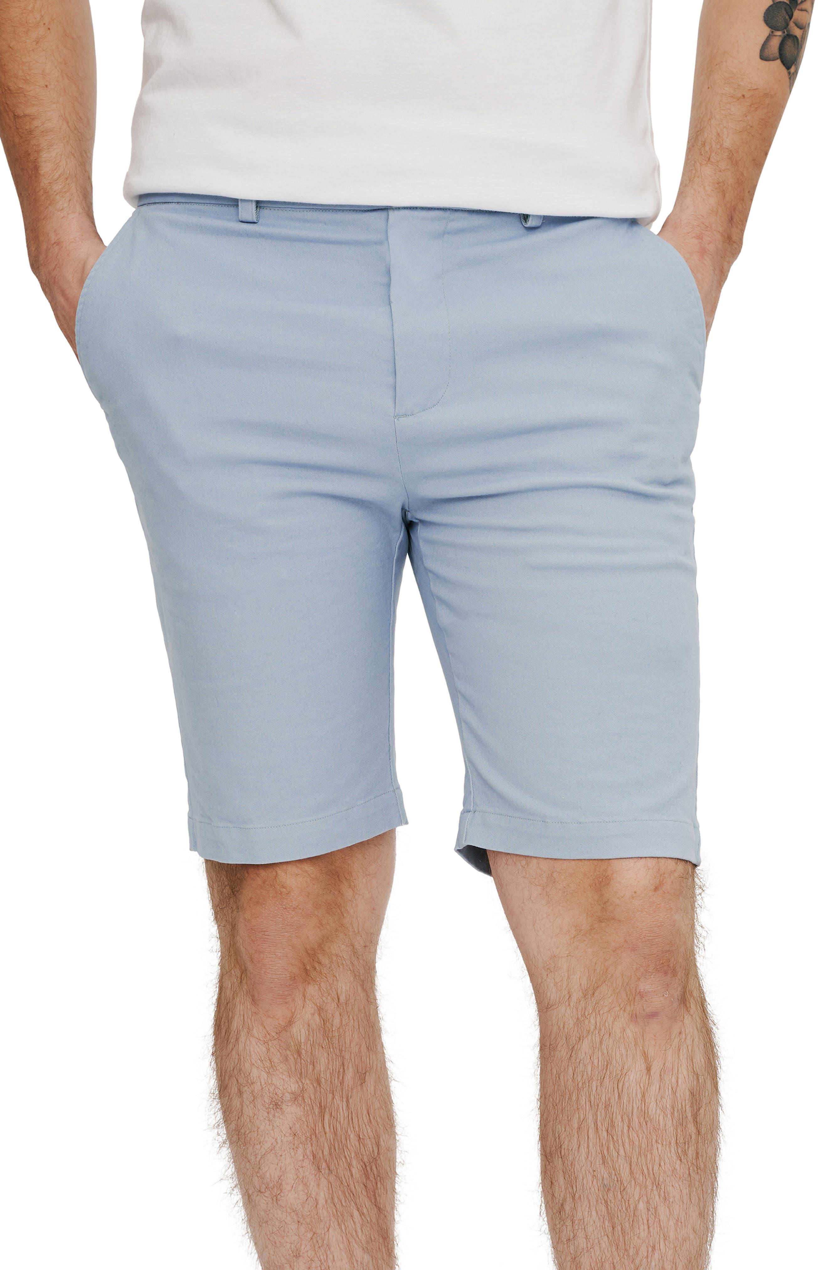 Stretch Cotton Chino Shorts