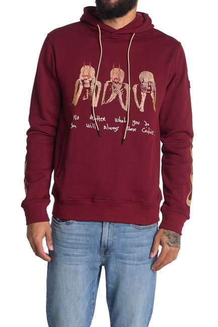Image of Well Known Cooper Graphic Pullover Hoodie