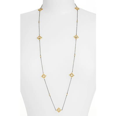Freida Rothman Long Station Necklace