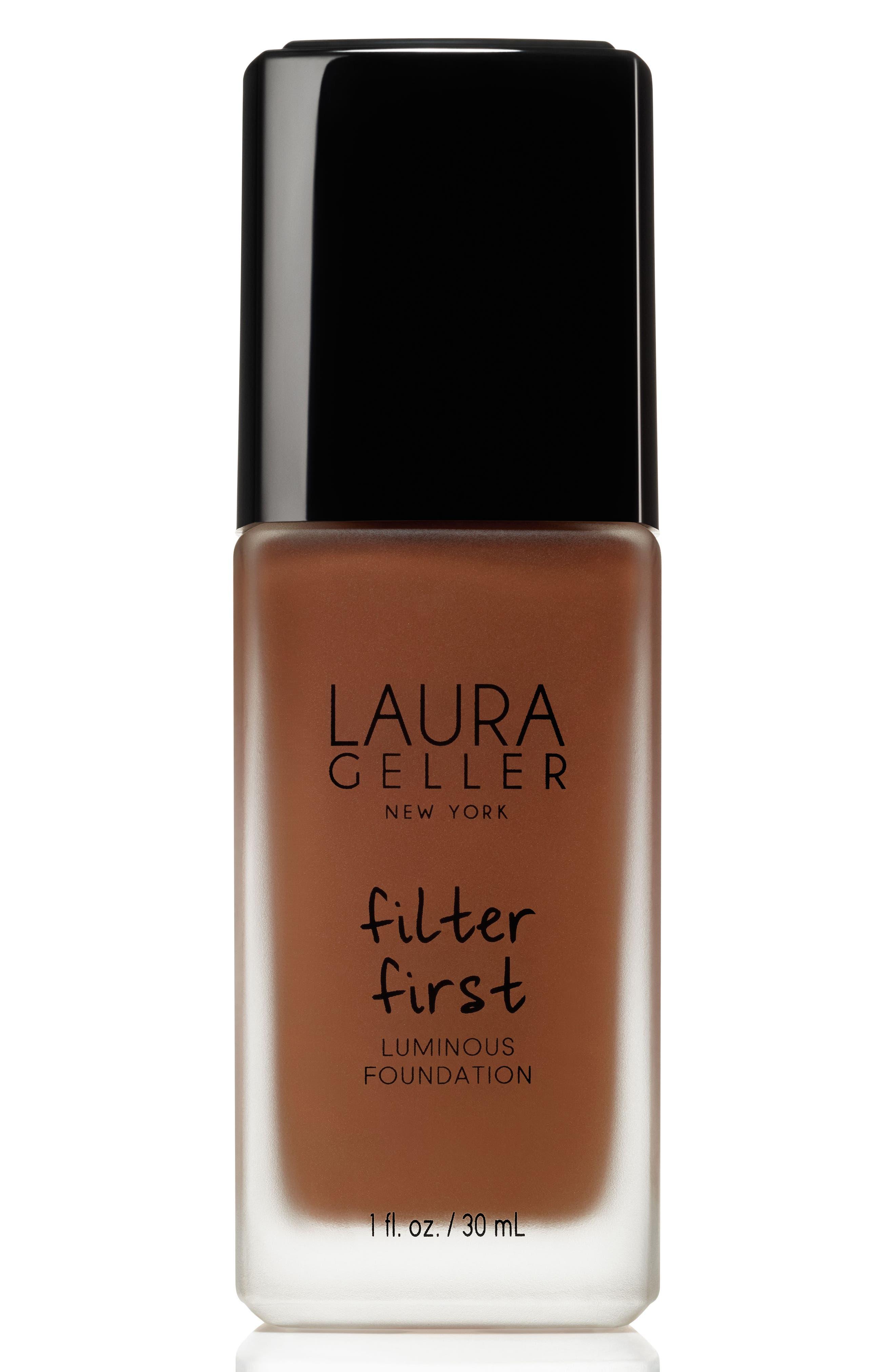 Image of Laura Geller New York Filter First Luminous Foundation - Mahogany