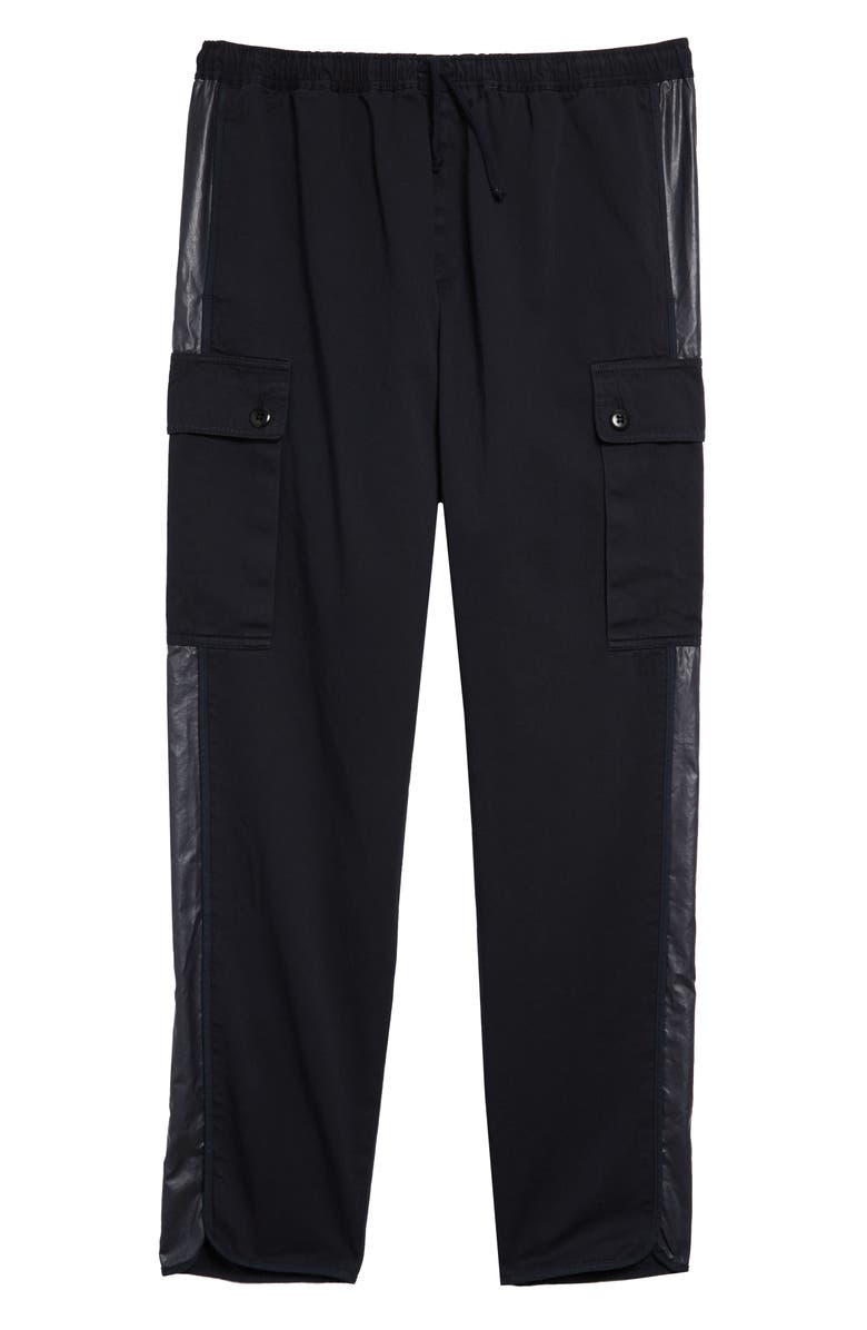 DRIES VAN NOTEN Polman Cargo Track Pants, Main, color, NAVY