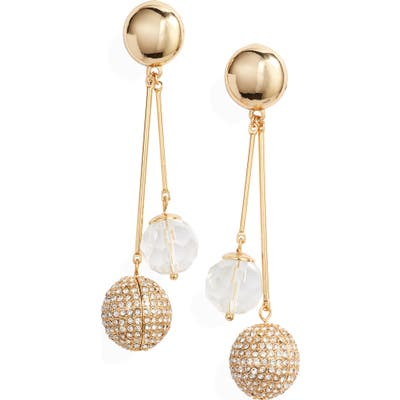 Ettika Crystal Drop Earrings