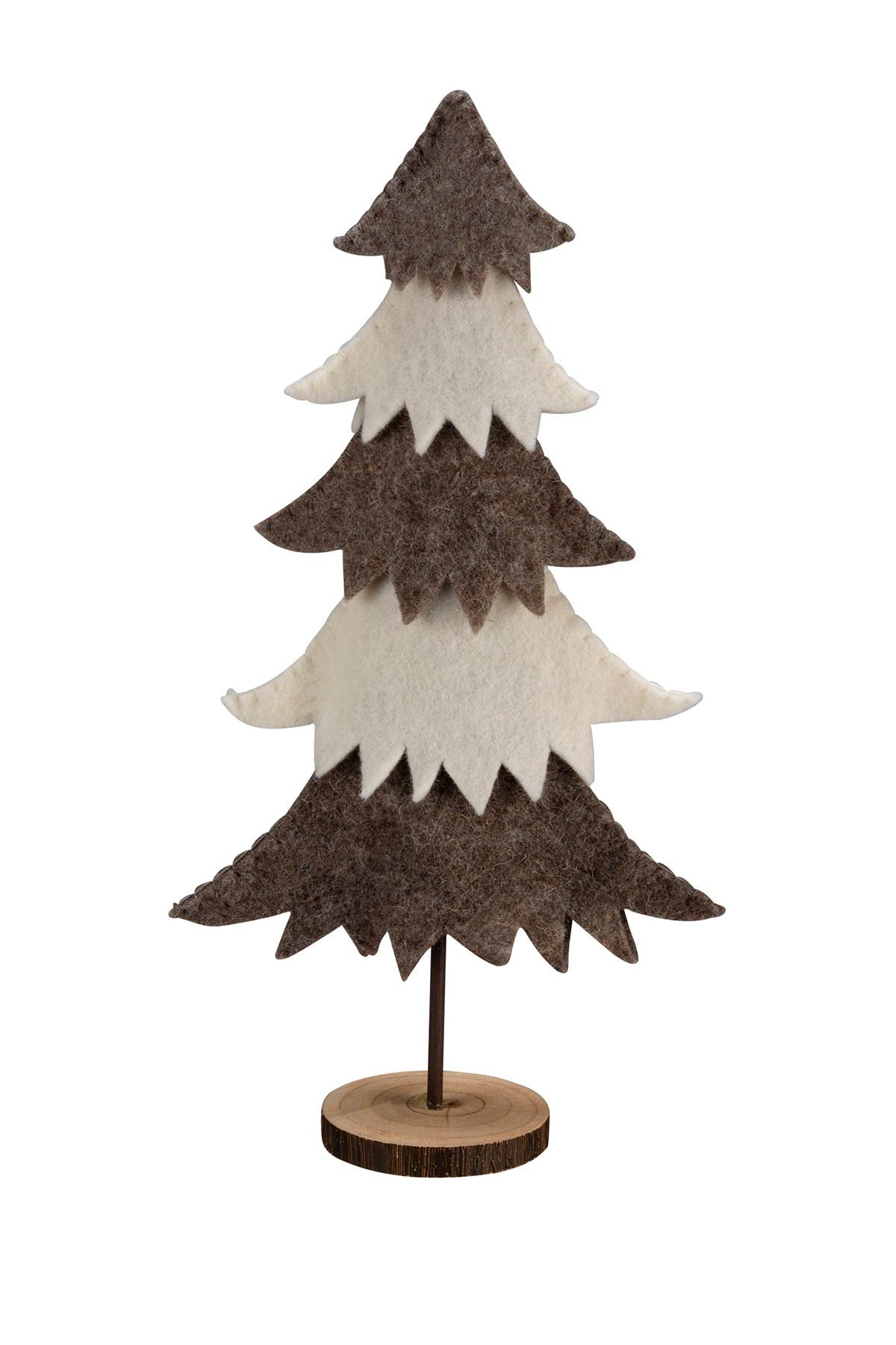 Image of Primitives by Kathy Tiered Felt Tree Stand