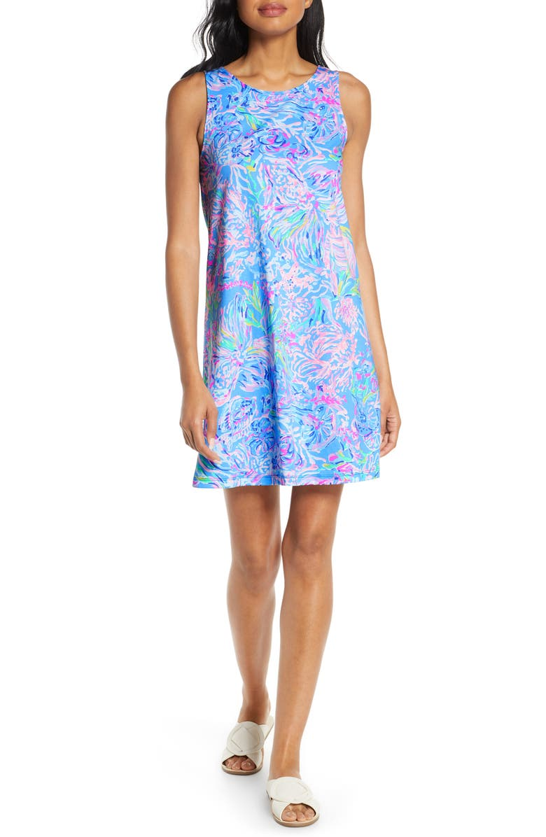 LILLY PULITZER<SUP>®</SUP> Kristen Swing Dress, Main, color, MULTI ALL TOGETHER NOW