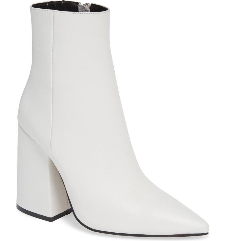 ALIAS MAE Ahara Bootie, Main, color, WHITE LEATHER
