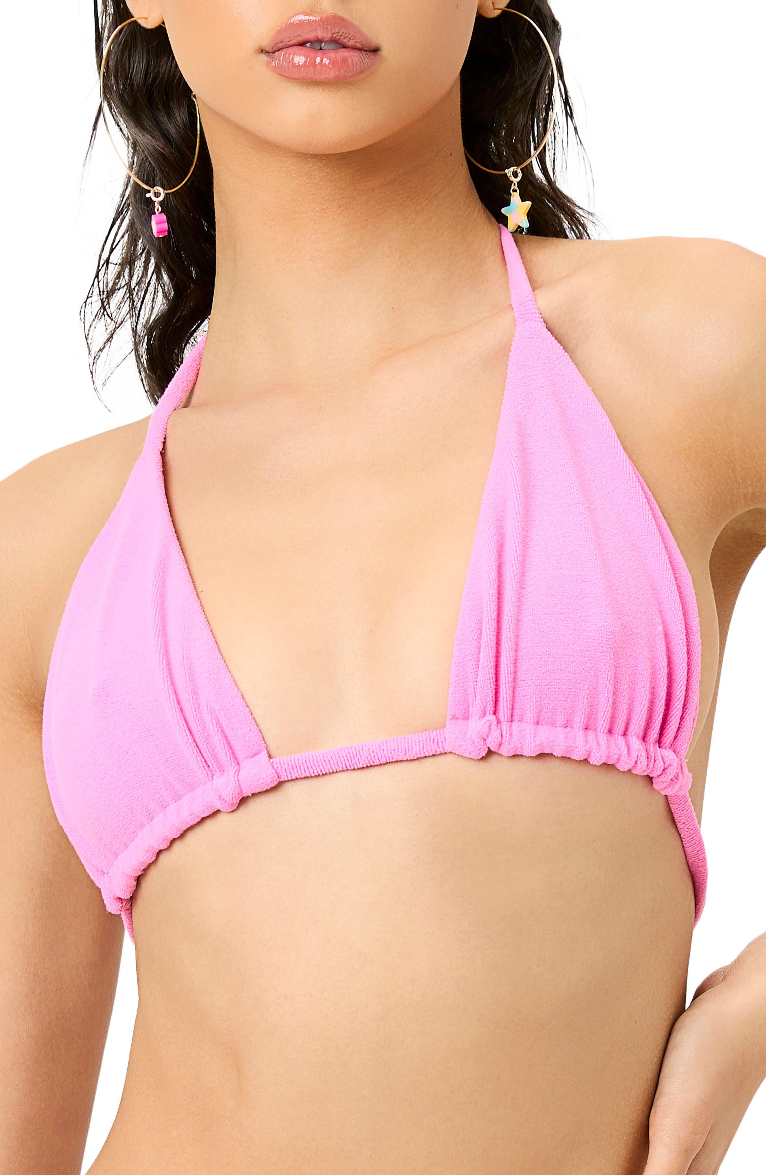 Tia Terry Cloth Bikini Top