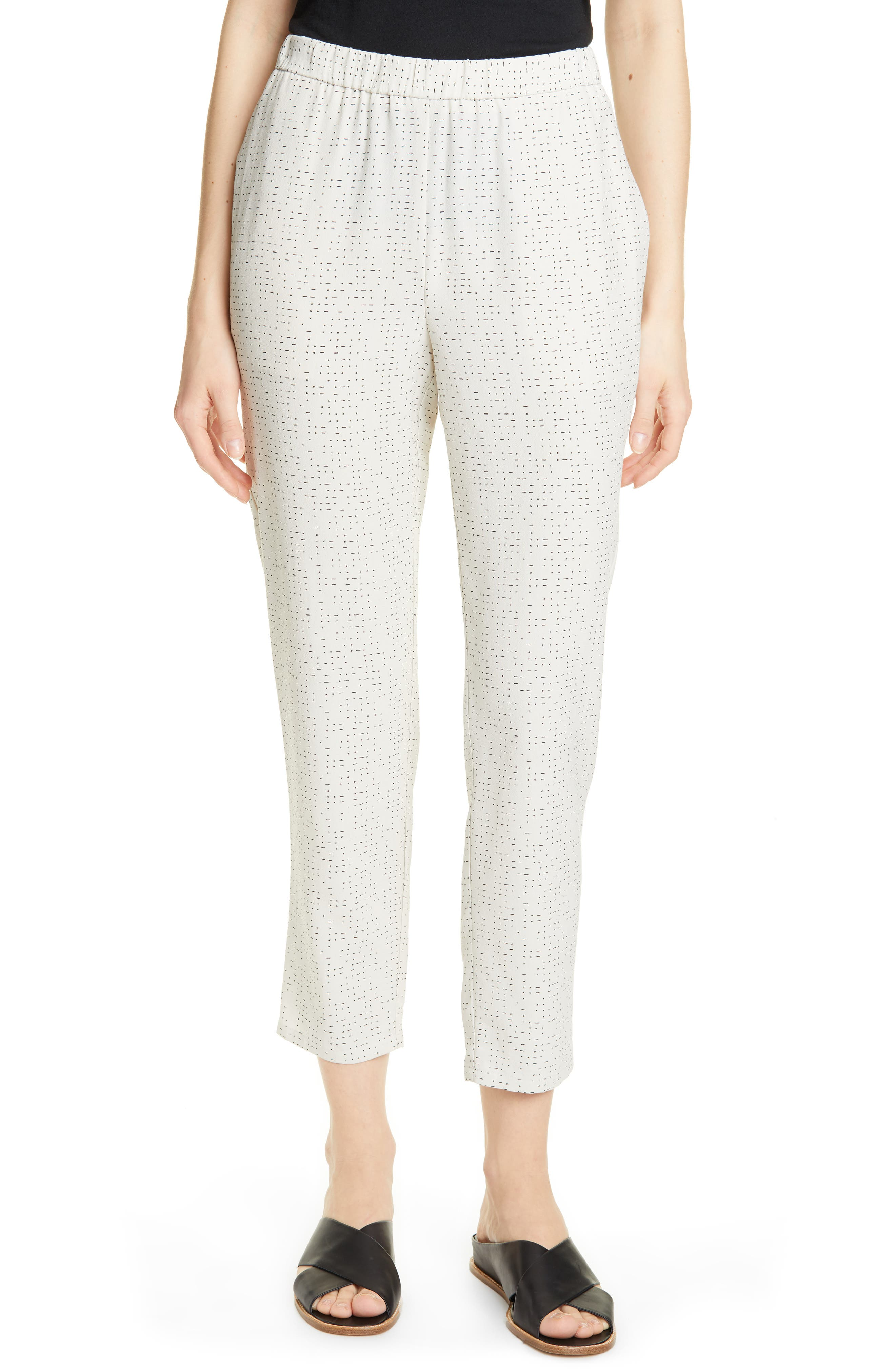women's eileen fisher slouchy ankle pants