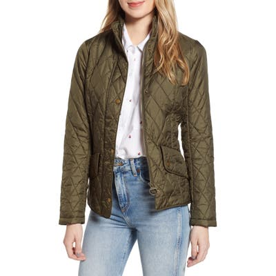 Barbour Flyweight Quilted Jacket, US / 8 UK - Green