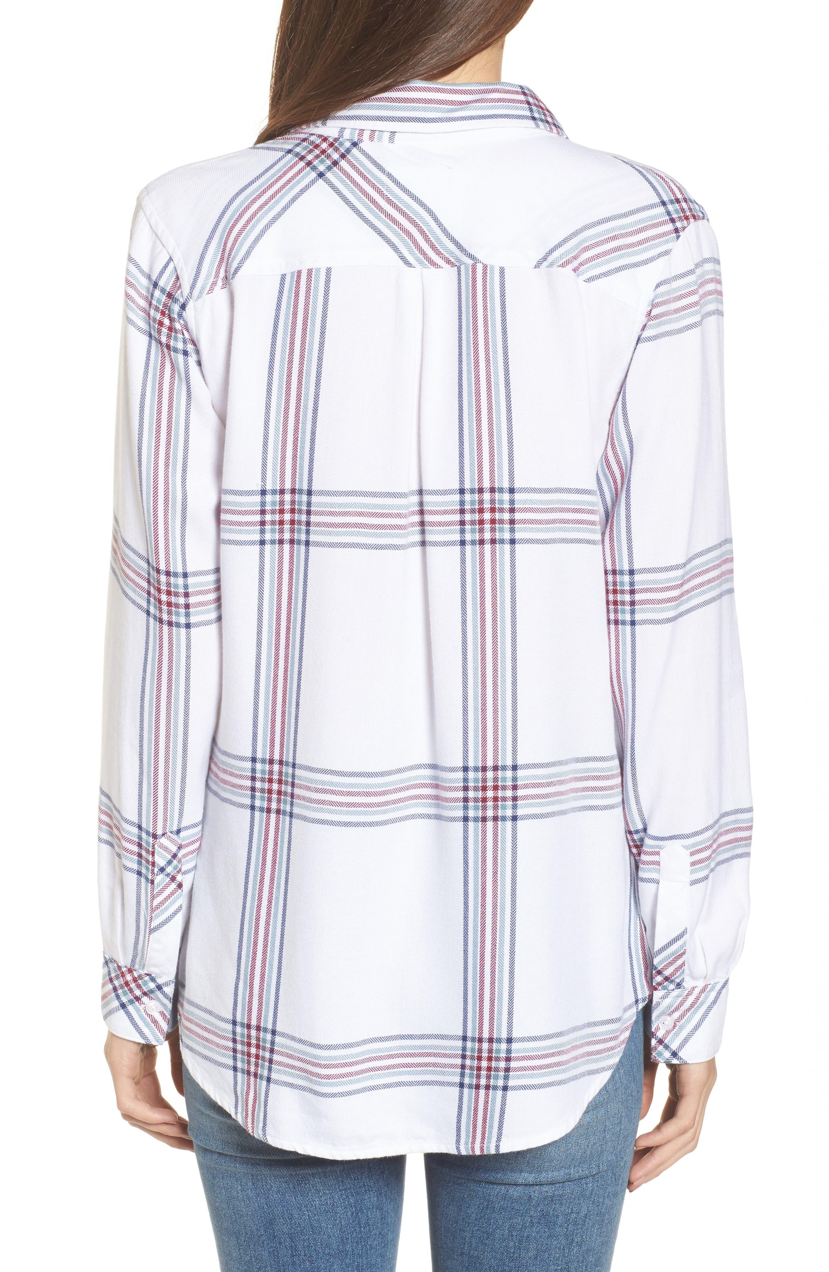 ,                             Hunter Plaid Shirt,                             Alternate thumbnail 565, color,                             101