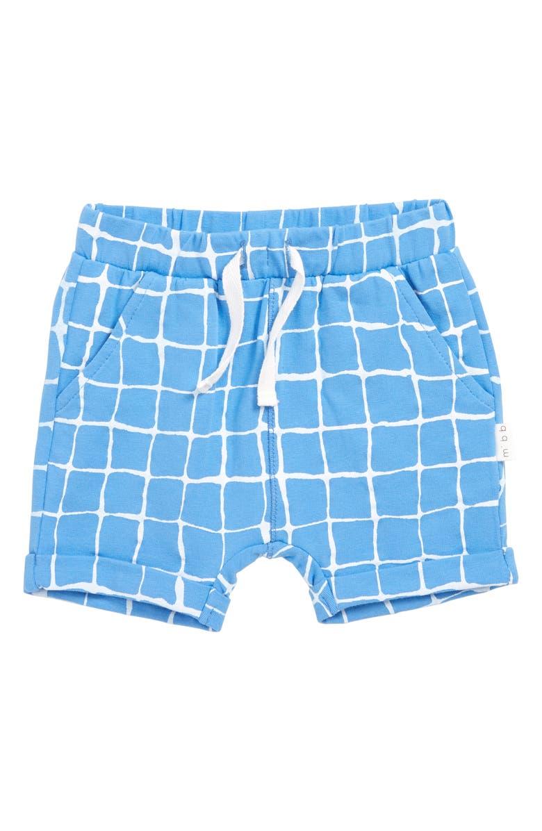 MILES BABY Print Knit Shorts, Main, color, 400