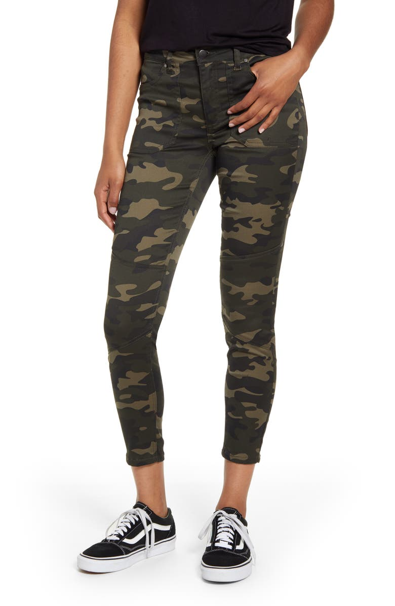 TINSEL Utility Jeggings, Main, color, CAMO