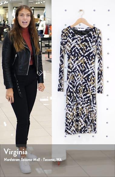 Second Skin Midi Dress, sales video thumbnail