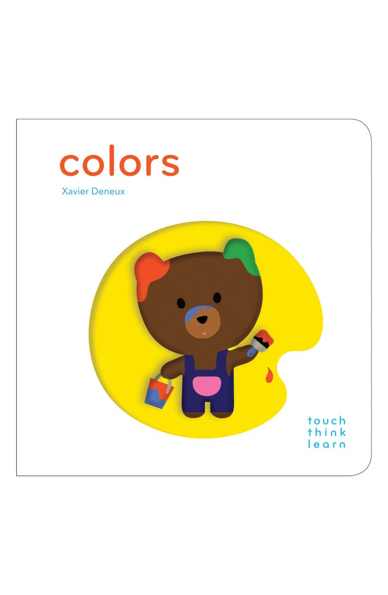 CHRONICLE BOOKS 'TouchThinkLearn: Colors' Board Book, Main, color, NONE