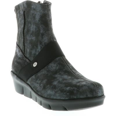 Wolky Omni Wedge Bootie, Black