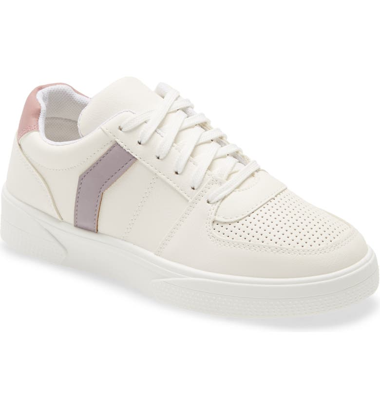TOPSHOP Charlton Sneaker, Main, color, LILAC