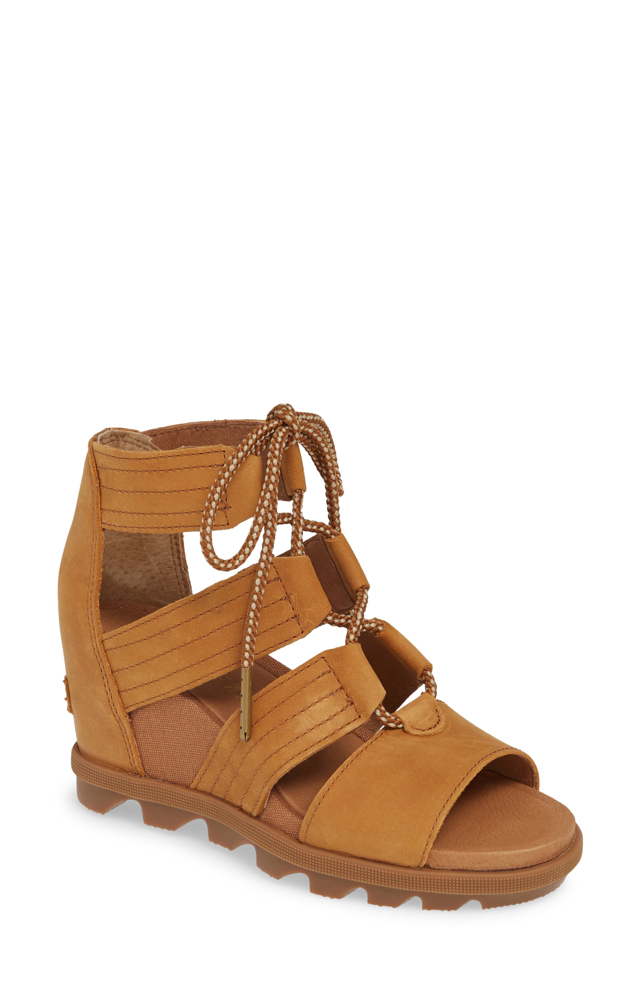 Sorel Joanie Ii Cage Sandal- Brown
