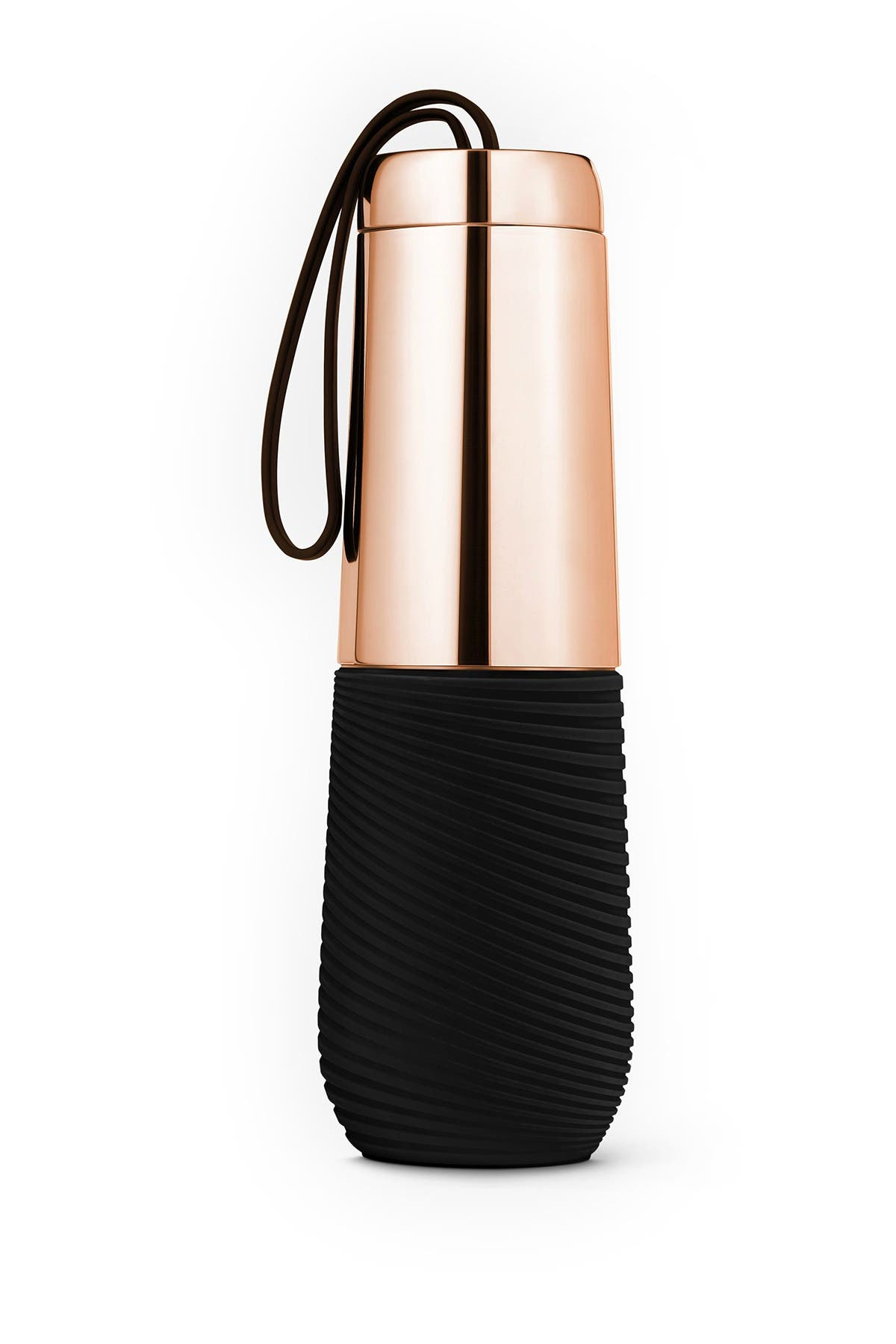 Image of ART AND COOK 16 oz. Water Double Wall Stainless Steel Water Bottle with Silicone Grip - Rose Gold