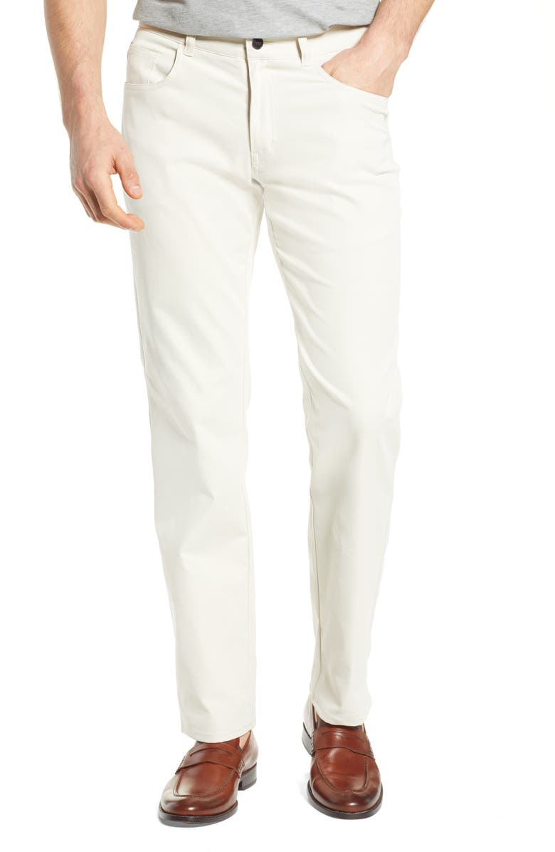 PETER MILLAR Five-Pocket Performance Pants, Main, color, STONE