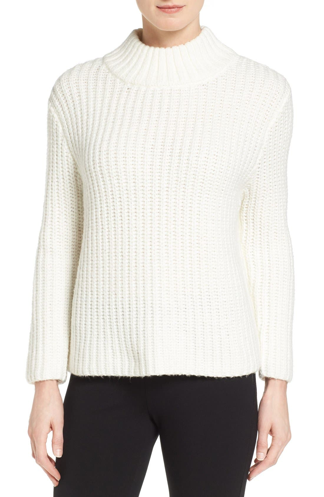 Mock Neck Sweater, Main, color, 900
