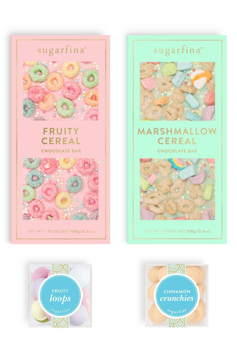 SUGARFINA Cereal Collection Favorites Candy Gift Set, Main, color, 400