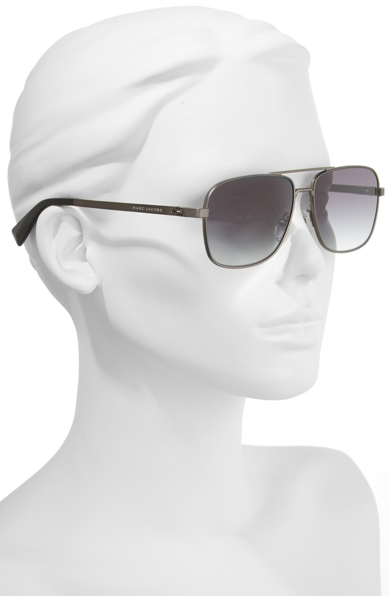 ,                             59mm Gradient Navigator Sunglasses,                             Alternate thumbnail 2, color,                             043